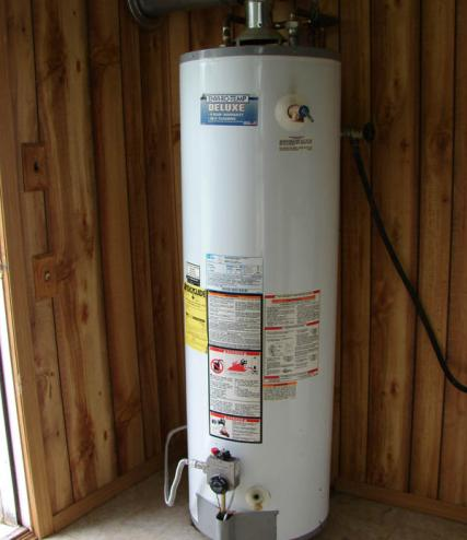 50 gallon water heater repaired by our plumbers